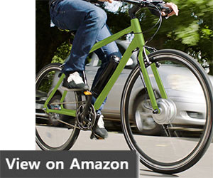 AEROBIKE Electric Bike Mens Hybrid eBike