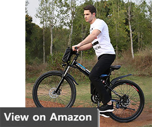 ANCHEER Electic Mountain Bike, 26 inch Folding E-bike