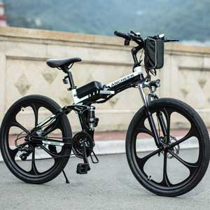 ANCHEER Electric Mountain Bike With Super Lightweight Magnesium Alloy
