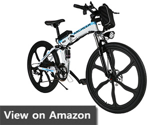 ANCHEER Electric and Mountain Bike