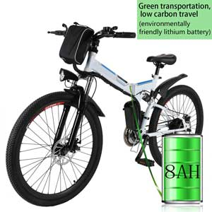 Bunao 36V 8Ah Lithium Battery Mountain Cycling Bicycle