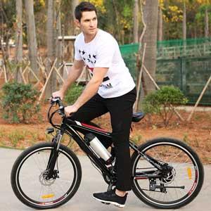 "Hiriyt 26"" 3-Mode Electric Mountain Bike"