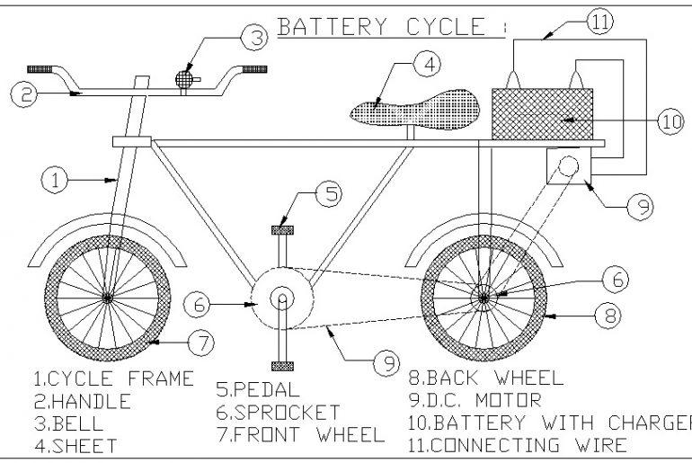 Working of an electric bike