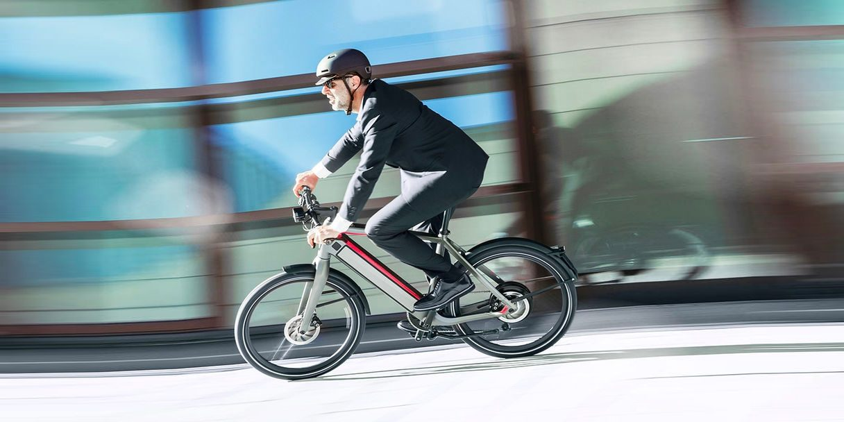 speeding ebike